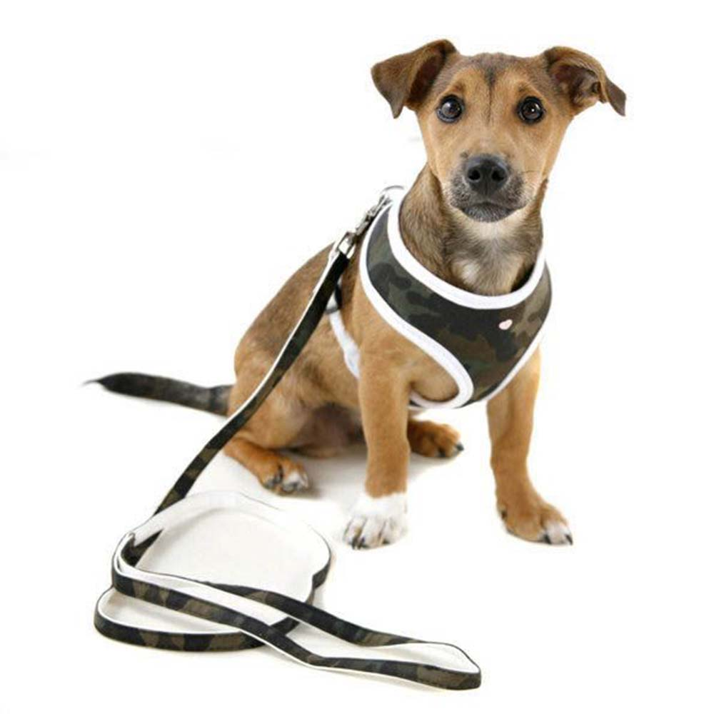 Puchi Softy Harness for dogs in Camouflage